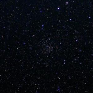 「散開星団NGC7789」の撮影 2021年8月4日(機材:コ・ボーグ36ED、スリムフラットナー1.1×DG、E-PL5、ポラリエ)