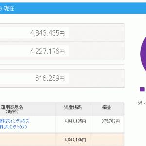 更新 確定拠出年金 iDeCo 残高(2019/11/30)