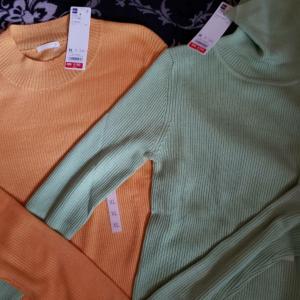 190円のGUセーターを買ってしまうワタシ