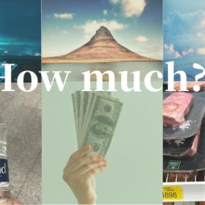 アイスランドに5日間旅行してかかった費用まとめ【物価高すぎ】