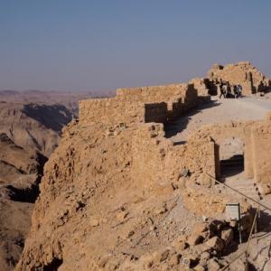 【エルサレム】ユダヤ人決死の抵抗!マサダ遺跡は訪れる価値あり!
