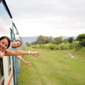 【総距離1860km】念願のタンザン鉄道1日目!一等個室貸し切りで快適すぎた