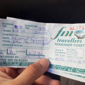 【バス移動】ザンビアのルサカからリヴィングストンへ!【ヴィクトリアフォールズ】