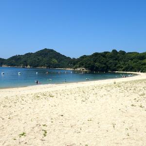 【広島県呉市】蒲刈・県民の浜へ海水浴に行ってきました!