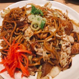 「焼きそば食べたい!」と言われたので『餃子道場 さくら 田原町店』を訪問