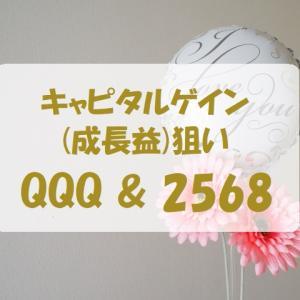 11/15週【QQQ】85,907円【2568】16,010円の評価損益