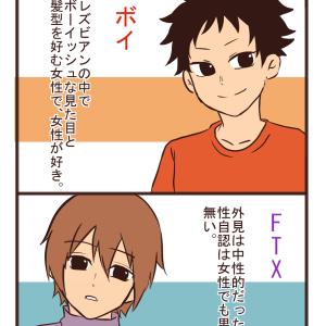 【LGBT漫画】それぞれの違い