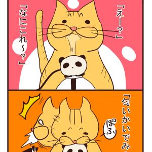 【猫漫画】初めての加湿器