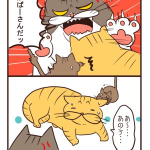 【猫漫画】お兄ちゃん