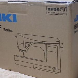 JUKI HZL-F400JP Exceed Dressmake買ったよ