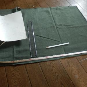 帆布でショルダーバッグを作ってみた
