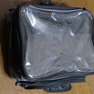 タンクバッグのマップケースの透明窓を交換してみた