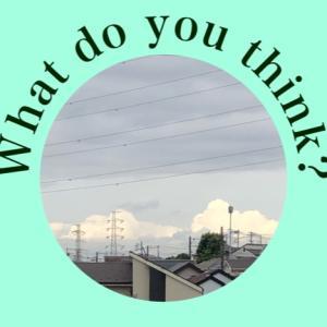 【いち英語】今日のお天気は?