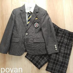 【入学式の男の子用スーツ】一式セットが楽ちんです