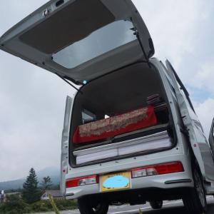 エブリィワゴンを車中泊目線で見た良い点#1