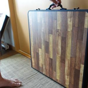 エブリィワゴンで車中泊用のテーブル買った