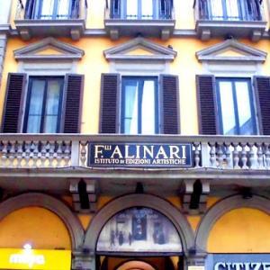 フィレンツェ ホテル アリナーリにて