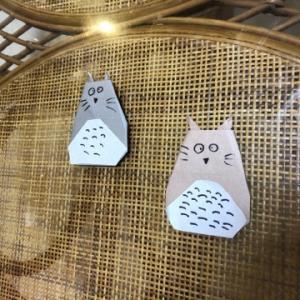 折り紙でトトロを作る☆彡