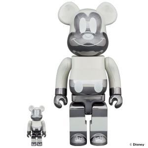 【2020/8/8(土)発売】BE@RBRICK fragmentdesign MICKEY MOUSE REVERSE Ver. 100% & 400% / 1000%