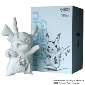 【2020/8/15(土)発売】Daniel Arsham Blue Crystalized Pikachu Resin and pigment