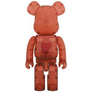【2020/12/12(土)発売】BE@RBRICK Emotionally Unavailable Clear Red Heart 1000%