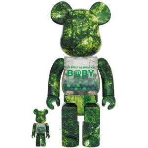 【2021/6/19(土)発売】MY FIRST BE@RBRICK B@BY FOREST GREEN Ver. 100% & 400% / 1000%