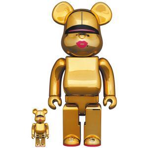 【2021/6/26(土)発売】BE@RBRICK SORAYAMA × 2G GOLD Ver. 100% & 400%