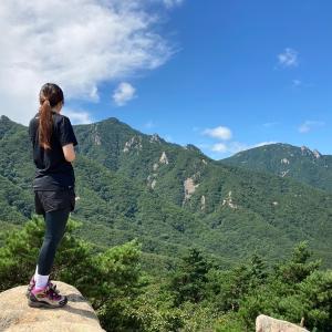 【江原道・ソクチョ】北朝鮮の山?金剛山に登って、海鮮食べた幸せな日