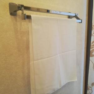 手拭きタオルは手ぬぐいを使っています|場所を取らずにすぐ乾く