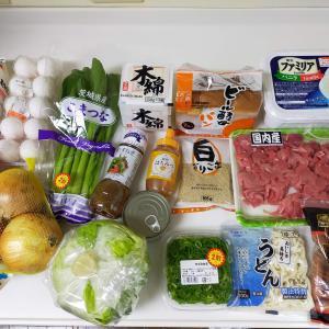 食材買い出し/ハムとチーズサンド/和風パスタ/ハンバーグ
