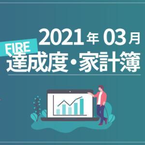 【医療費削減】ひこすけのFIRE達成度・家計簿をブログ公開【2021年3月】【FIRE・セミリタイア】