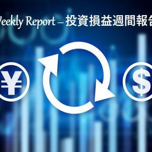 【実例】2020年10月第4週の投資損益 – 米国株&ETF+J-REIT+投資信託【定期報告】