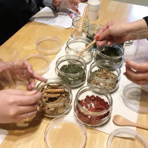 冬の薬膳茶講座と生姜のおはなし。
