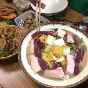 淡路島で猪鍋パーティー!