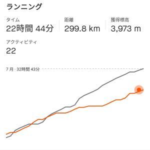 体調不良&荒天で想定外の低水準となった8月のトレーニング記録