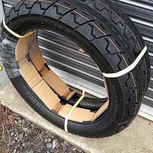 CB-F タイヤ交換