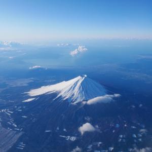 飛行機乗るなら?やっぱり富士山を拝みたい!!