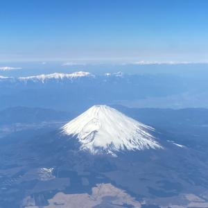 【JGCへの道】day4  景色が良いパワーラウンジと富士山