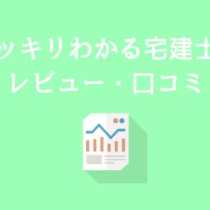スッキリわかる宅建士の評判・口コミ【宅建独学テキスト】
