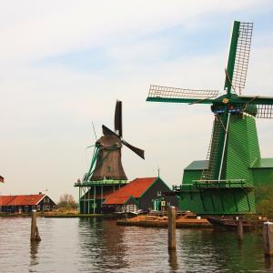 アムステルダムに近い風車は「ザーンセ・スカンス」!半日観光可