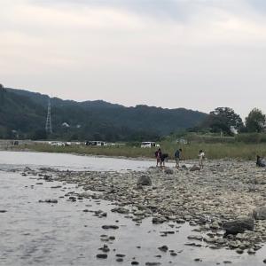 相模原市の高田橋河川敷で「和風BBQ」を楽しんできました。