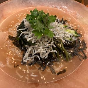 映画は「少年の君」、ランチは小田急の「菜々土古里」で冷麺!