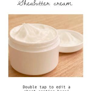 アロマの香りで癒されるふわふわシアバタークリーム♡