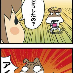 ★4コマ漫画「神経質」