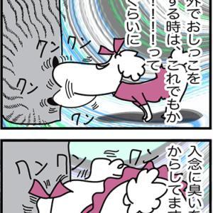 ★4コマ漫画「女の子のシッコ」