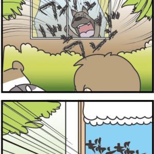 ★4コマ漫画「なぜか」