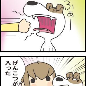 ★4コマ漫画「入った」