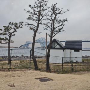 若洲ゴルフリンクス 曇りですが無風!