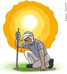 ファン付きキャップ??夏ゴルフ、クラブやショット以前に一番重要な熱中症対策