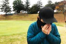 冬ゴルフに防寒対策バッチリ!防寒とコロナ、両方これでOK(^-^)